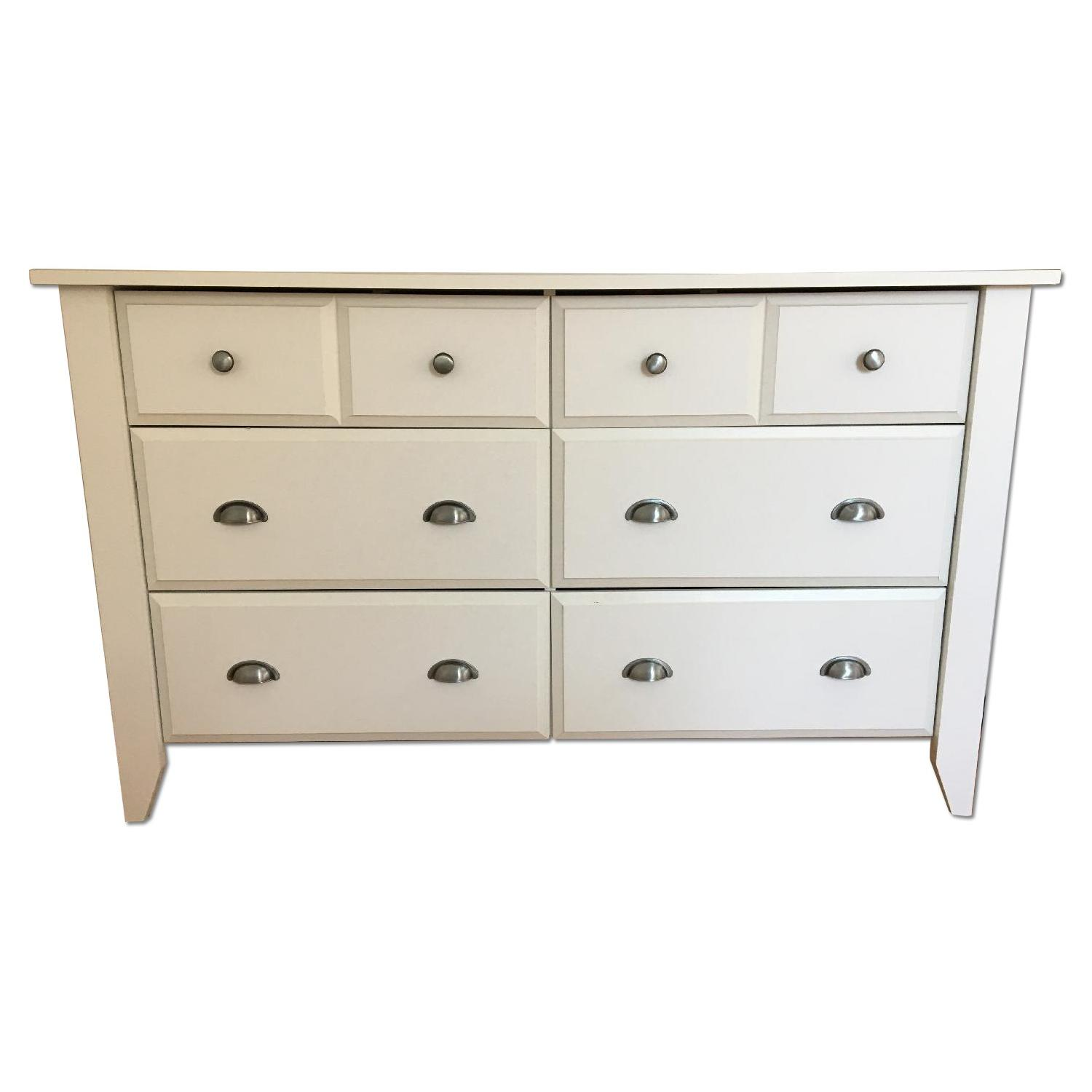 Sauder Shoal Creek Dresser in Soft White finish - image-0