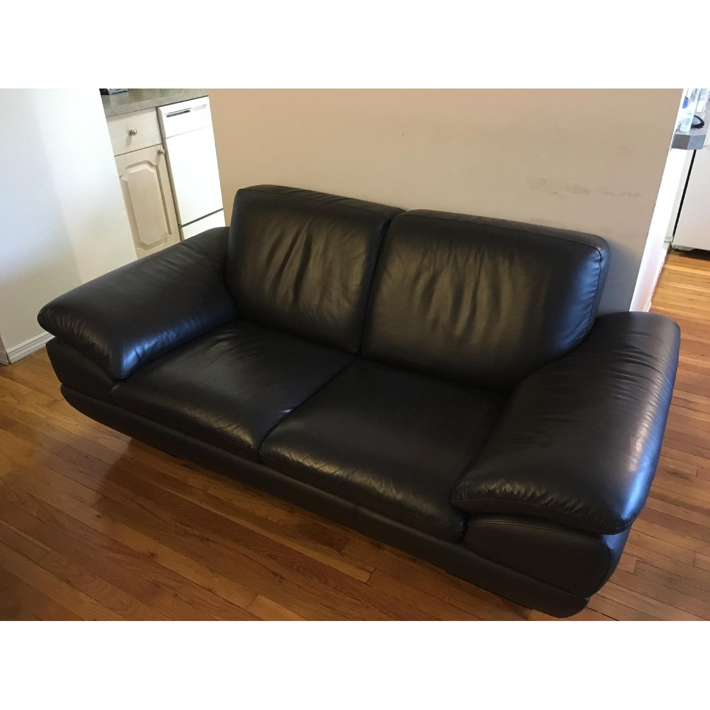 Beverly Hills Prestige Top Grain Full Leather Sofa + Loveseat - image-2