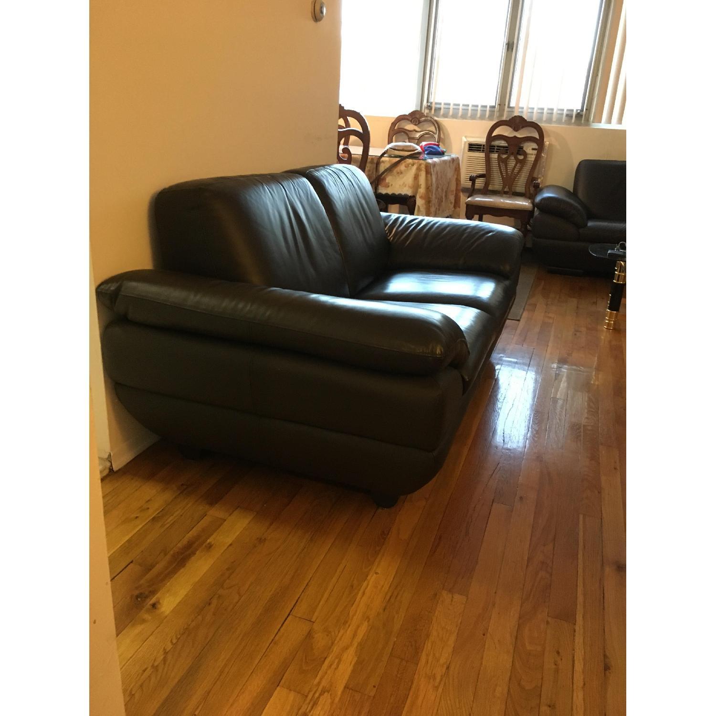 Beverly Hills Prestige Top Grain Full Leather Sofa + Loveseat - image-4