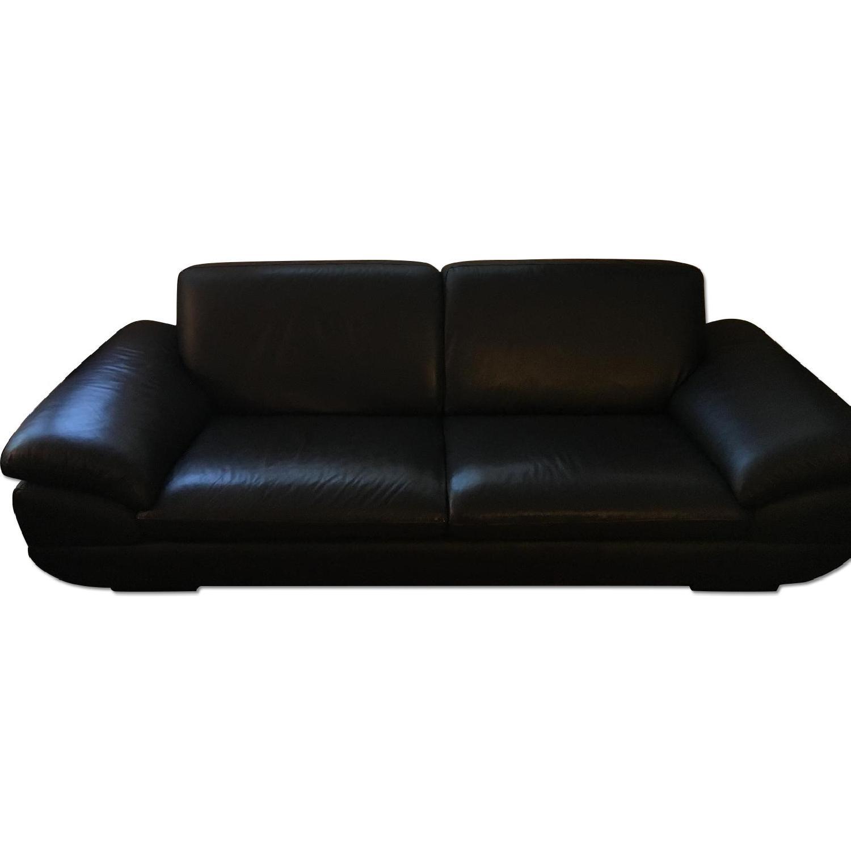 Beverly Hills Prestige Top Grain Full Leather Sofa + Loveseat - image-0