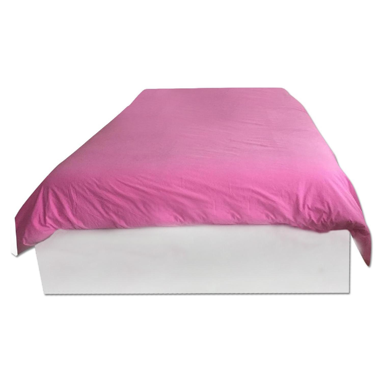 Ikea Brimnes Queen Size Bed Frame w/ Storage - image-0