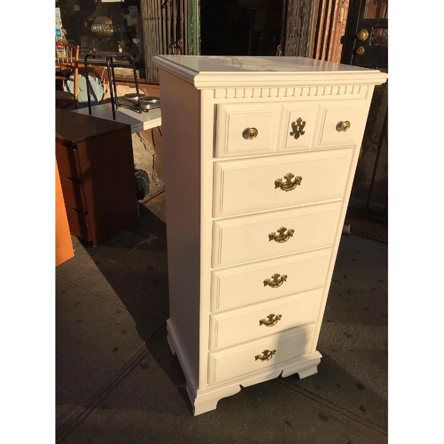 White Chest of Drawers - image-1