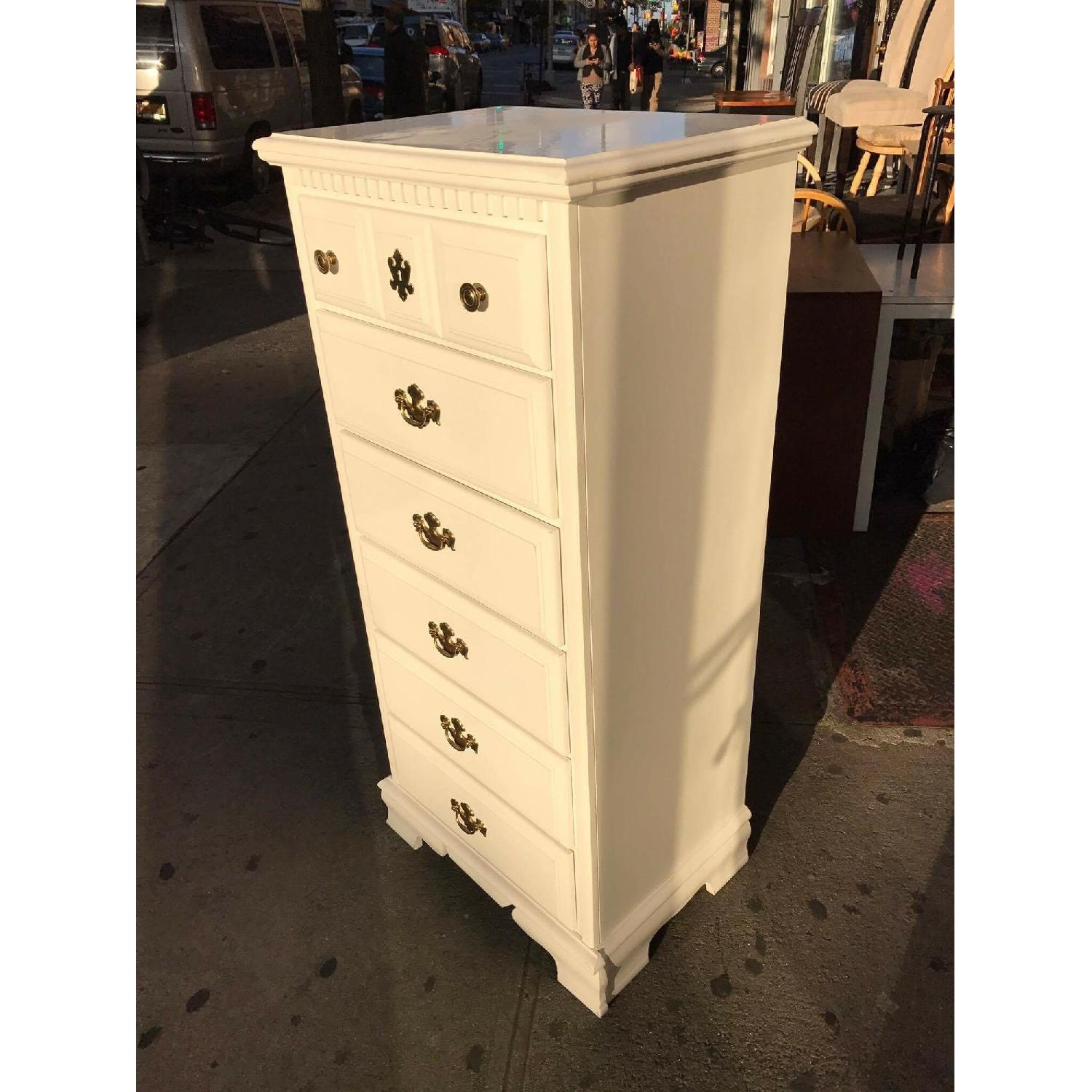 White Chest of Drawers - image-2