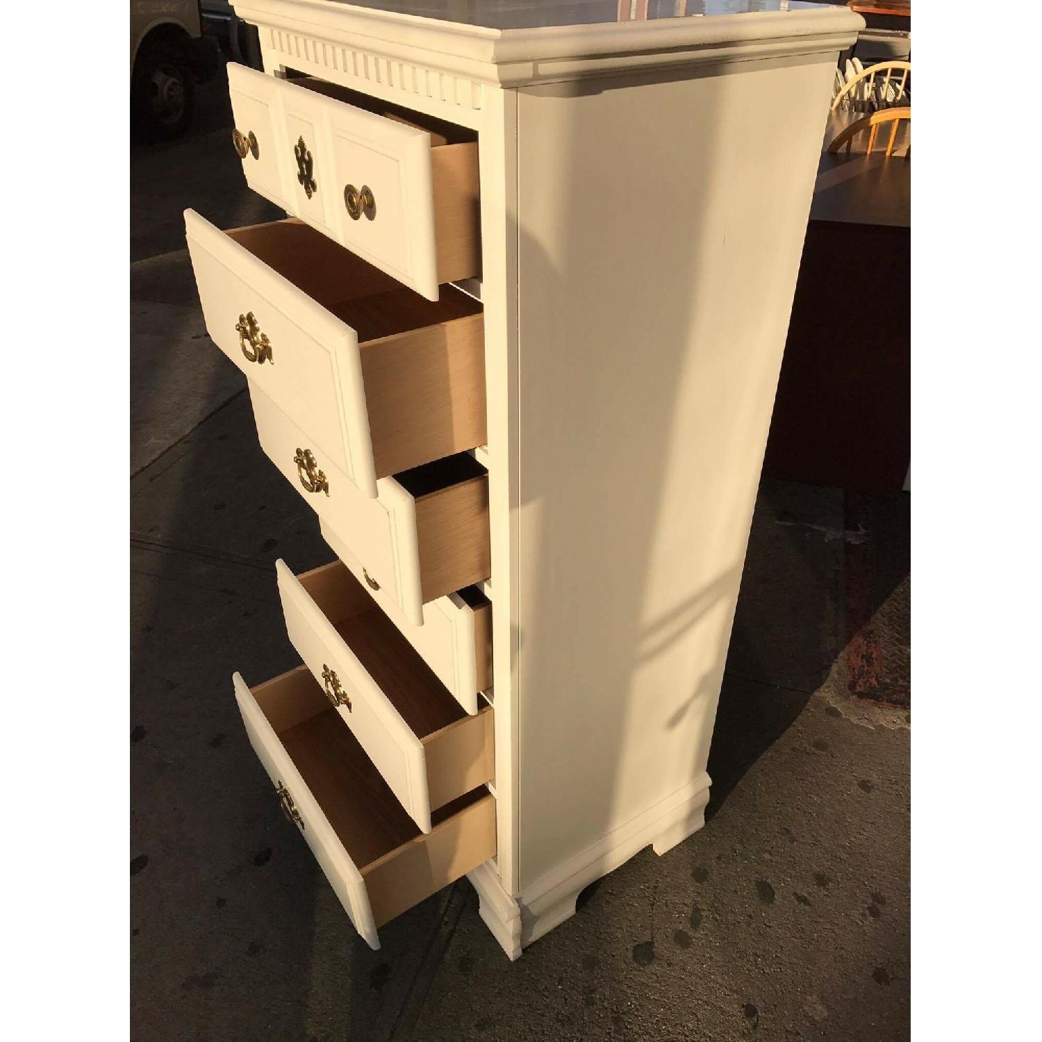 White Chest of Drawers - image-10