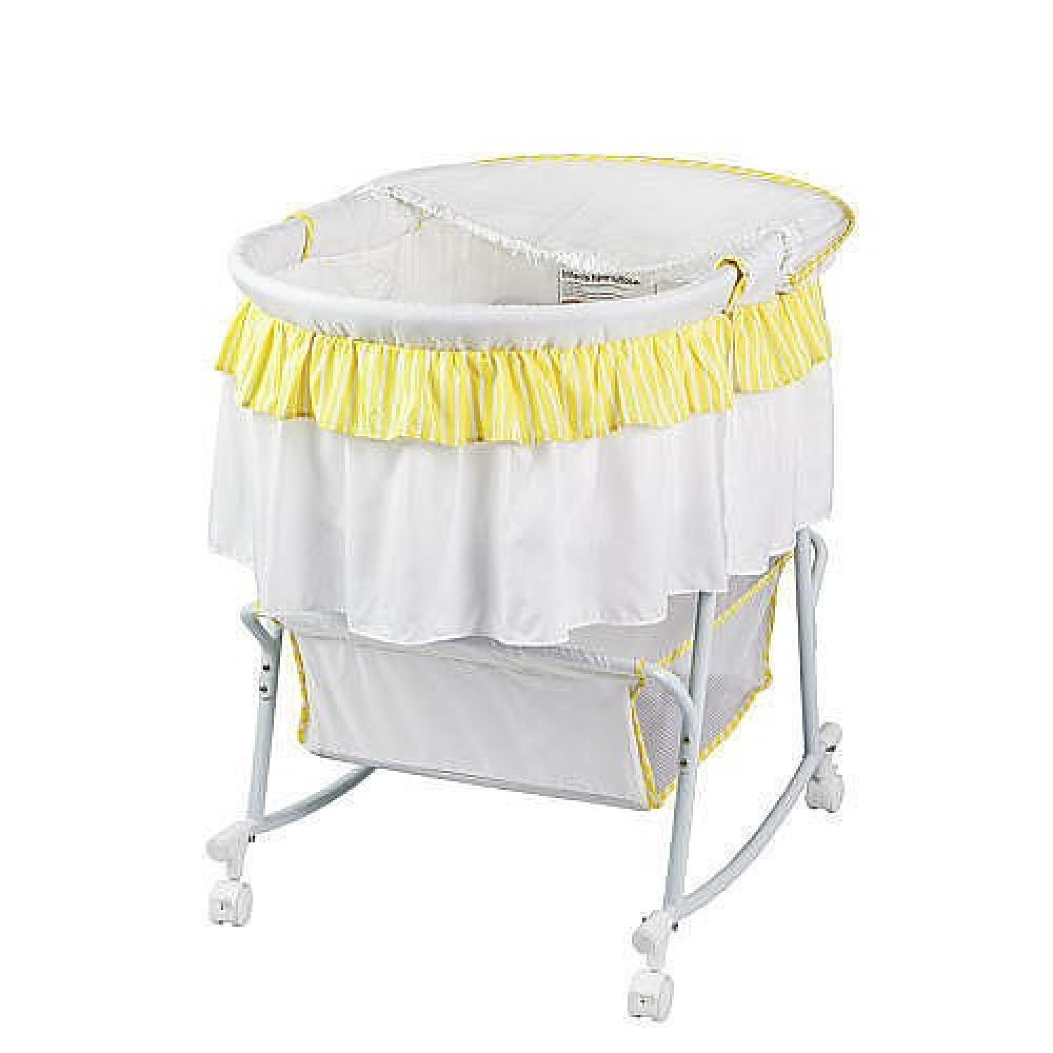 Dream On Me Lacy Portable 2in 1 Bassinet - image-2