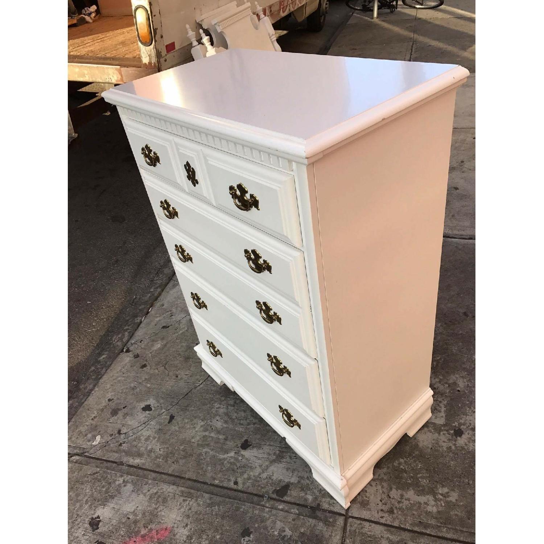 Bassett Vintage White Dresser - image-2