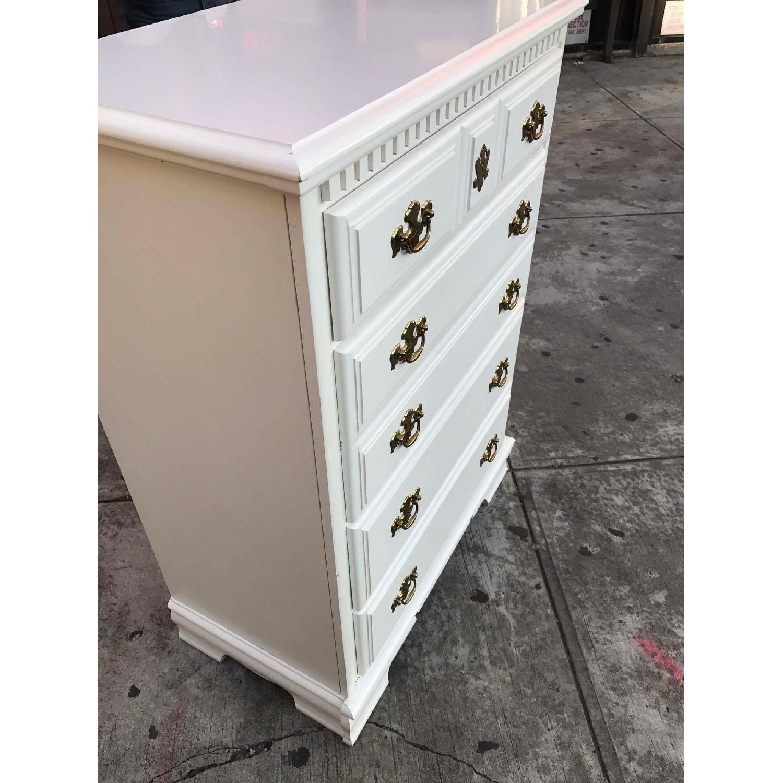 Bassett Vintage White Dresser - image-7