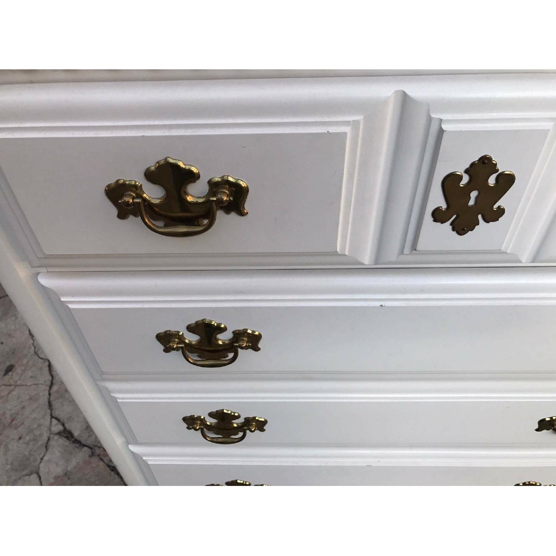 Bassett Vintage White Dresser - image-8