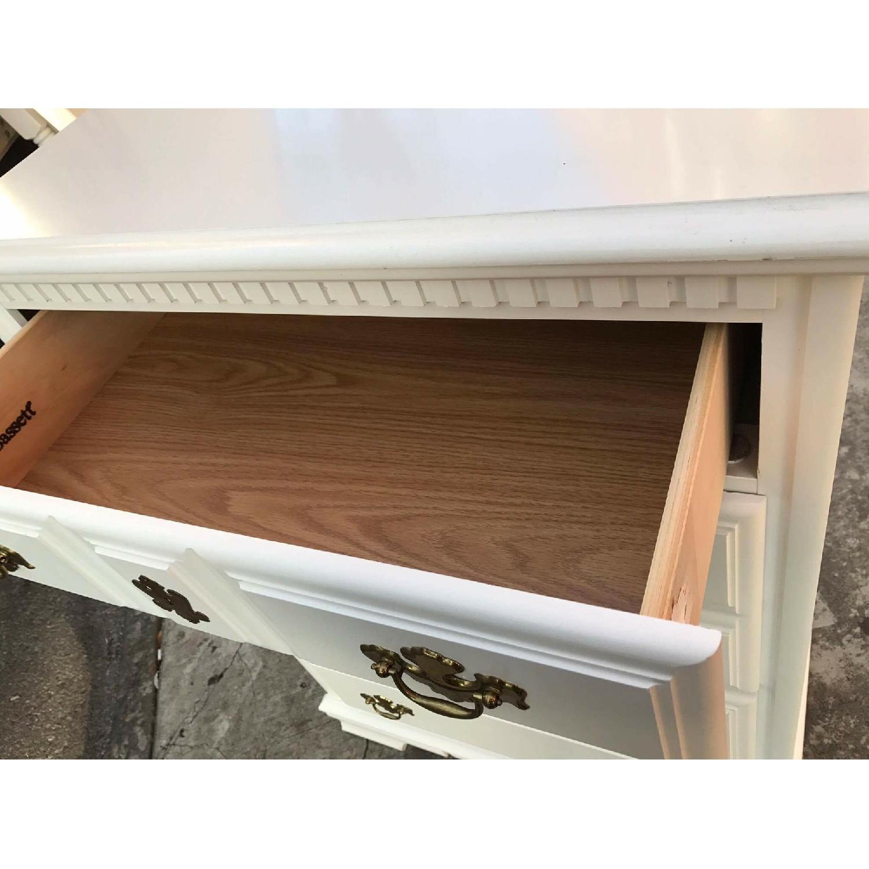 Bassett Vintage White Dresser - image-10