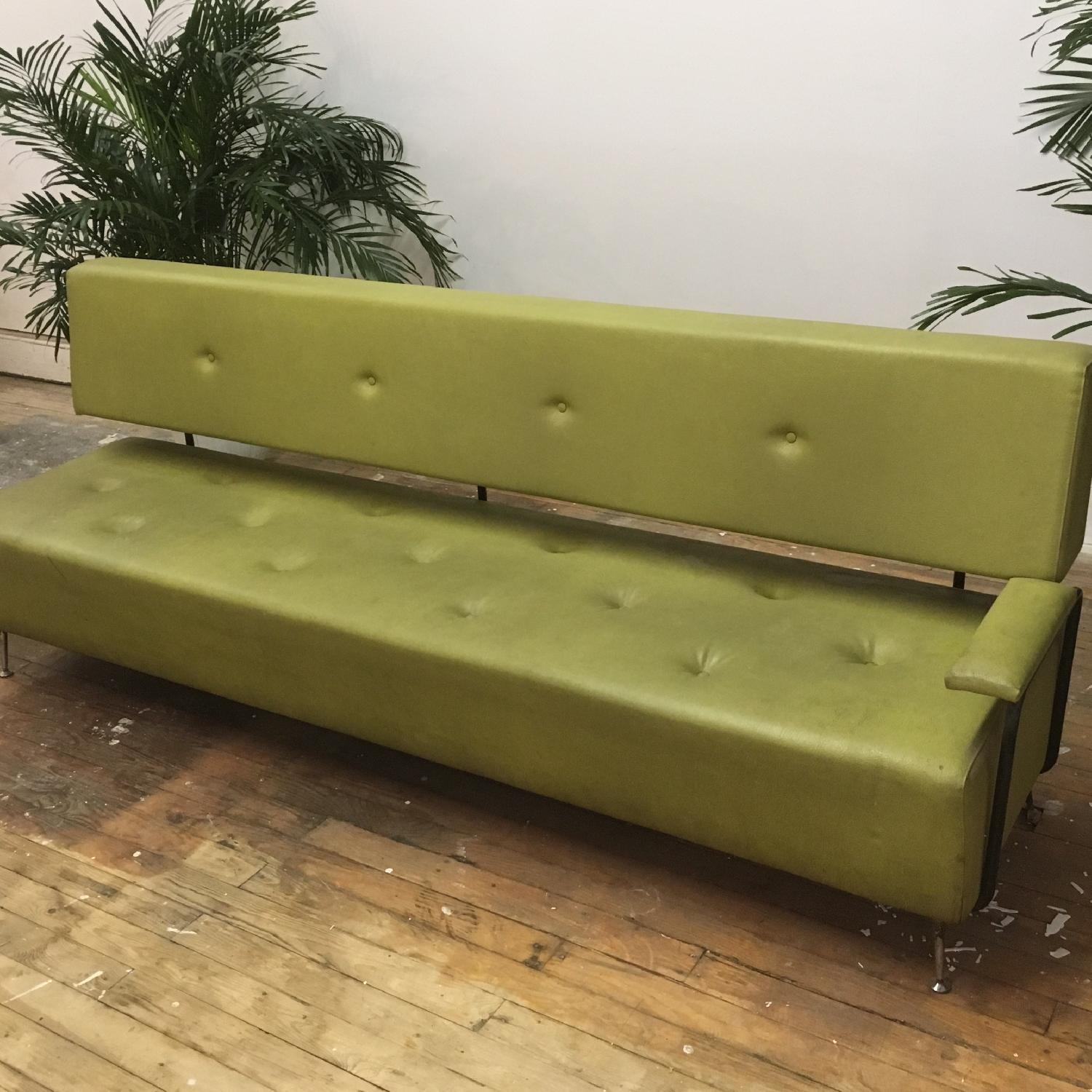 Modern Moss Green Couch - image-2