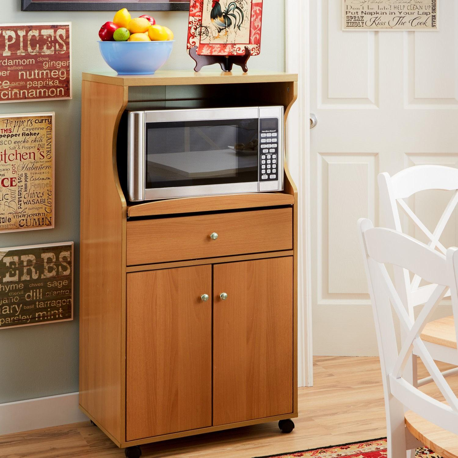 Home Source Industries Microwave Stand - image-1