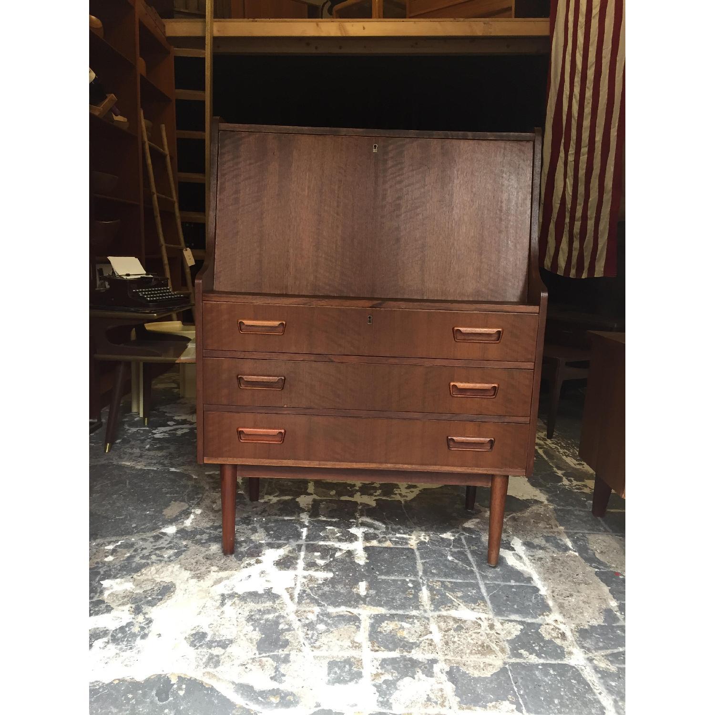 Maurice Villency Furniture Vintage Secretary Desk - image-1
