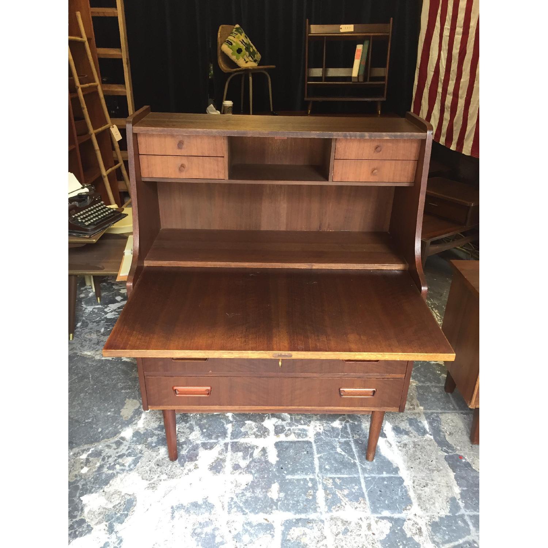 Maurice Villency Furniture Vintage Secretary Desk - image-2