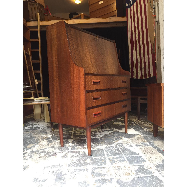 Maurice Villency Furniture Vintage Secretary Desk - image-3