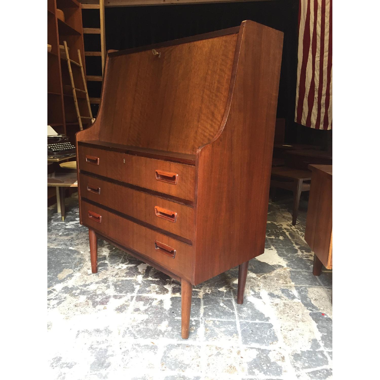 Maurice Villency Furniture Vintage Secretary Desk - image-4