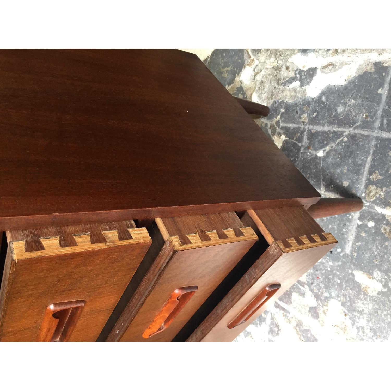 Maurice Villency Furniture Vintage Secretary Desk - image-5