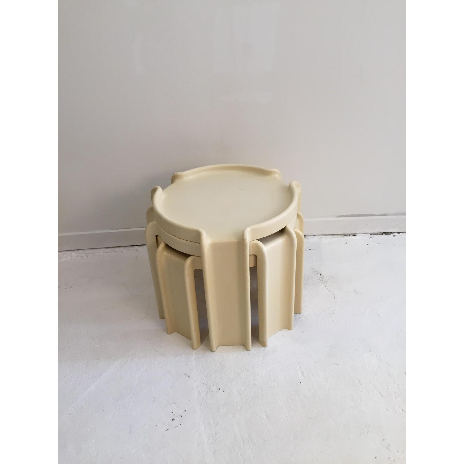 Kartell Early Production Stacking Side Tables - image-1