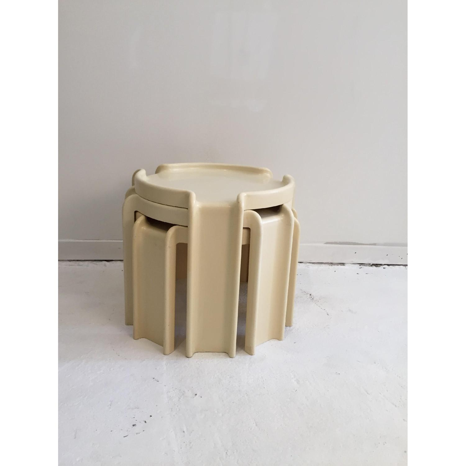 Kartell Early Production Stacking Side Tables - image-2