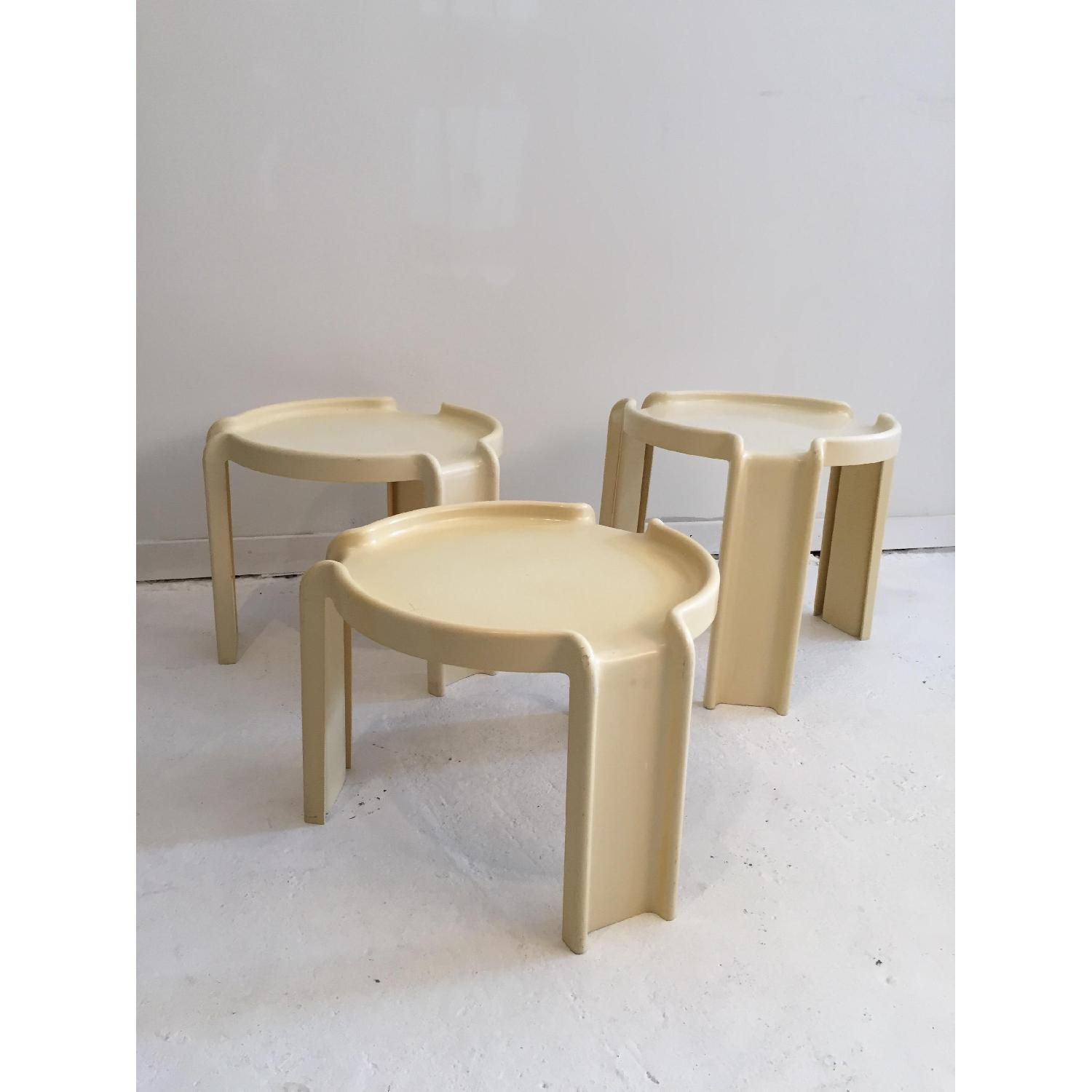 Kartell Early Production Stacking Side Tables - image-3
