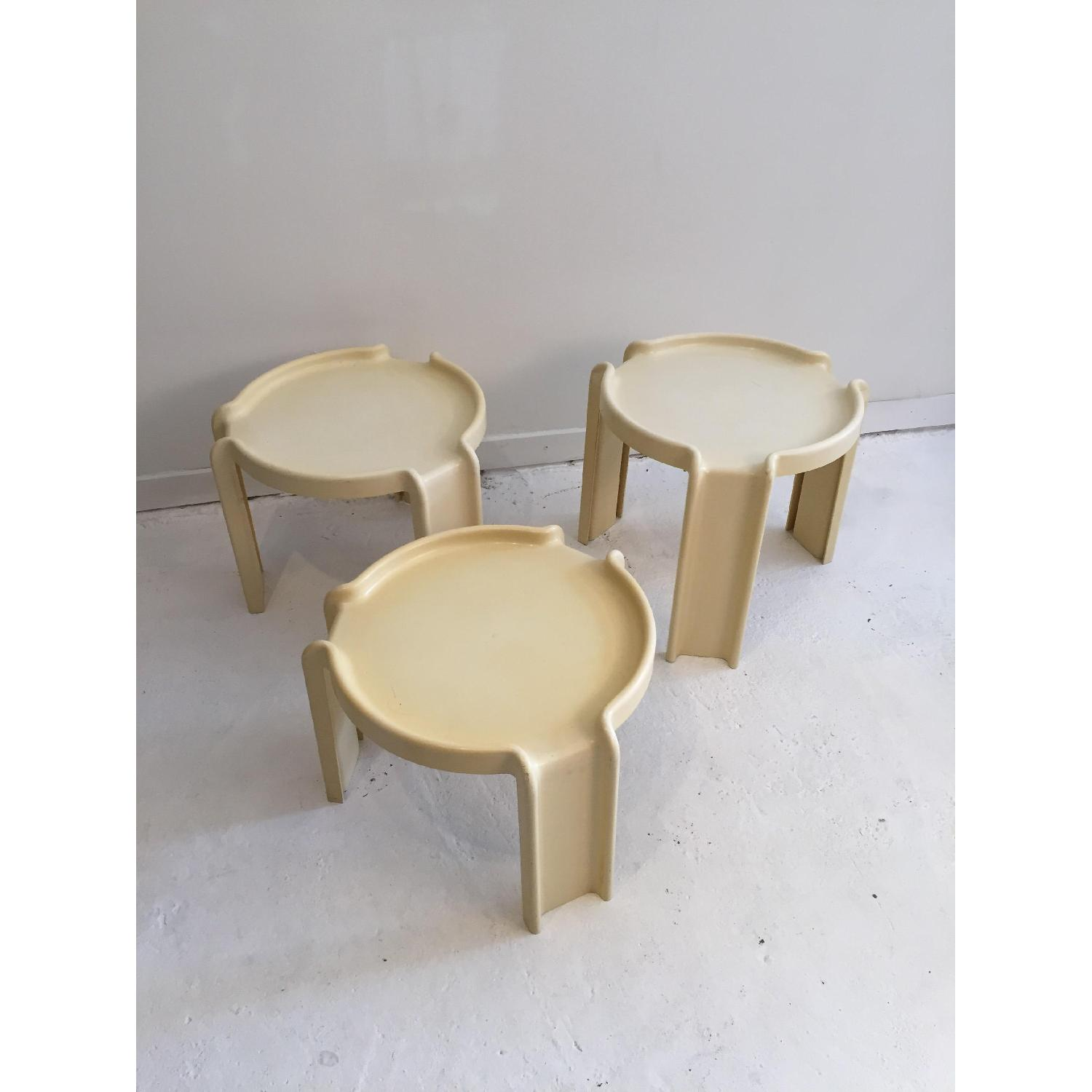 Kartell Early Production Stacking Side Tables - image-4