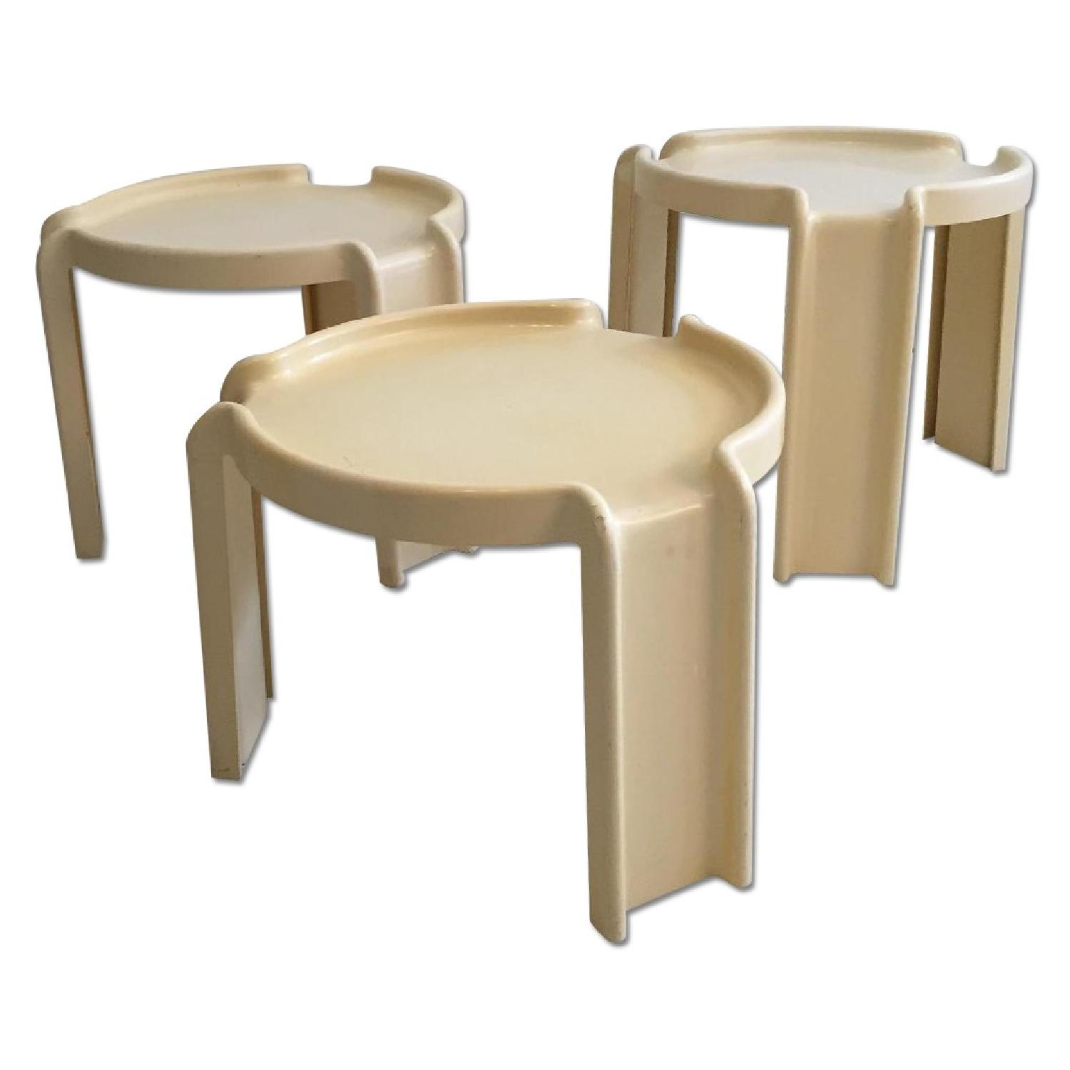 Kartell Early Production Stacking Side Tables - image-0