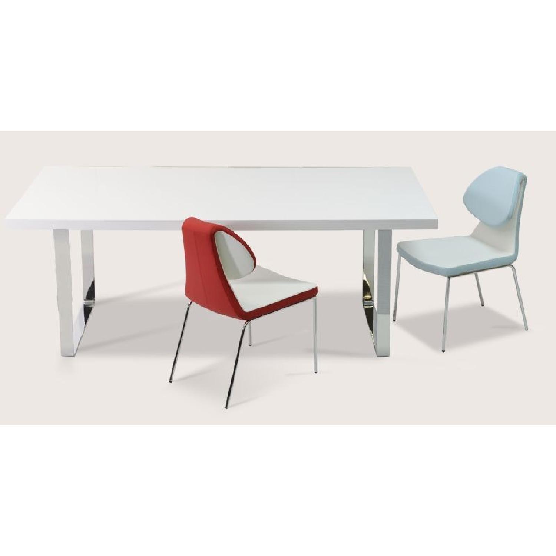 Premium SohoConcept Bosphorus White Gloss Dining Table w/ So - image-2