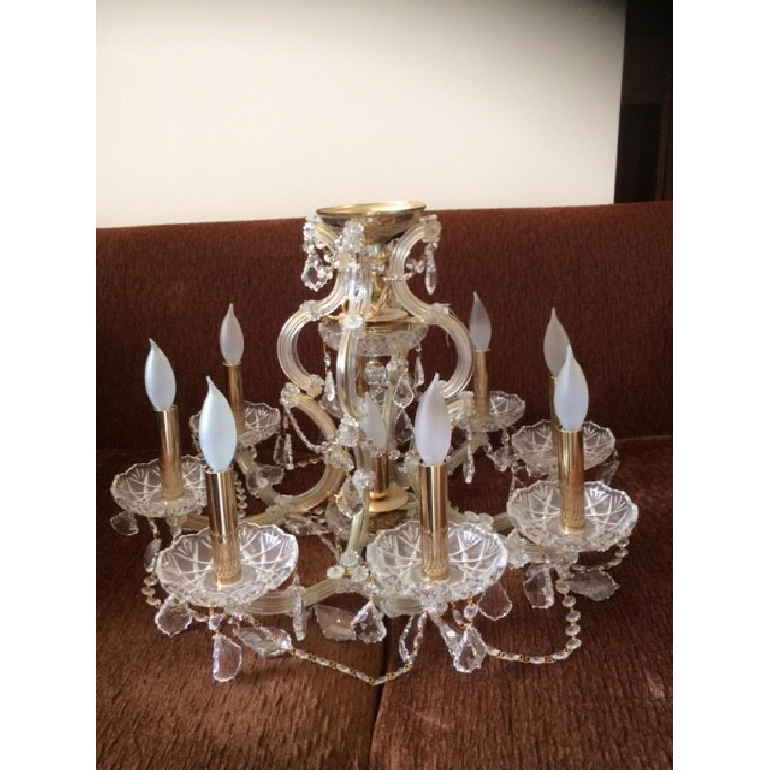 Palace 9 Light Maria Theresa Style Crystal Chandelier - image-2
