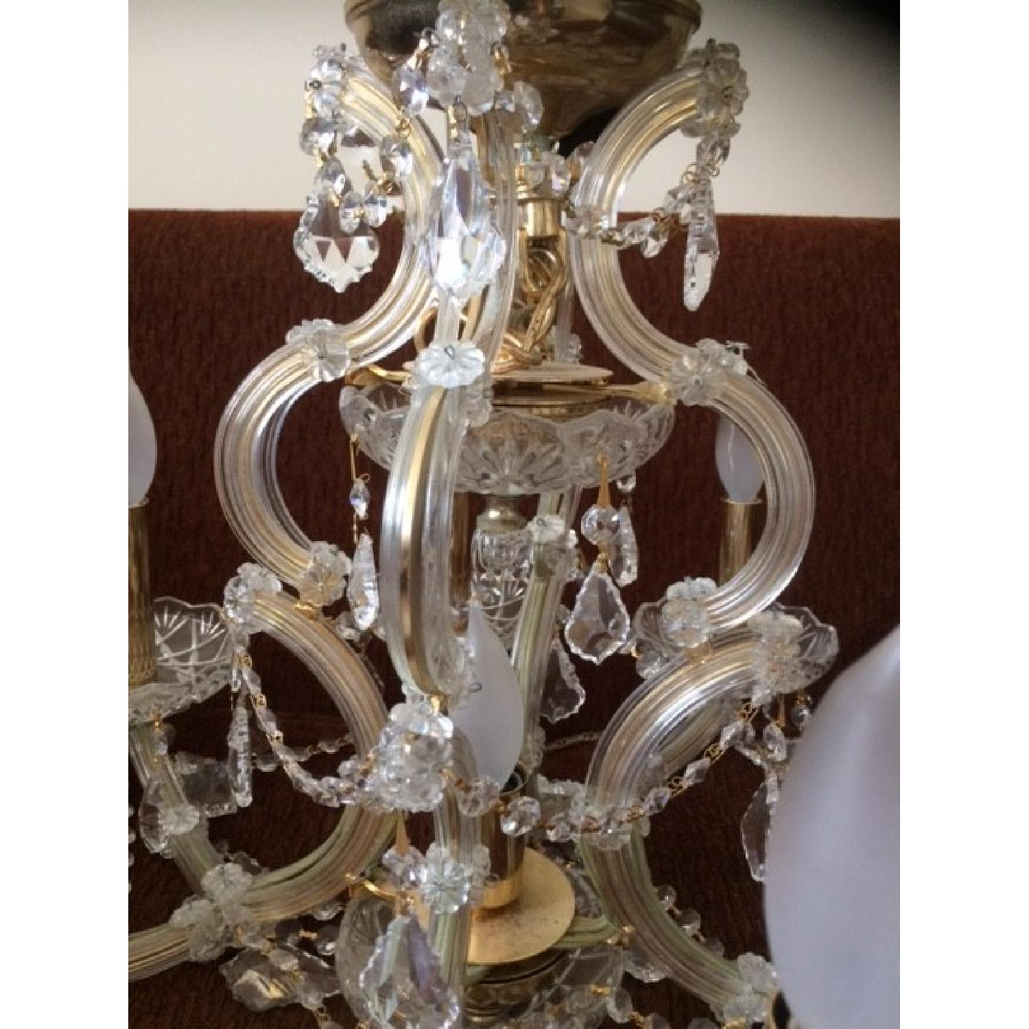 Palace 9 Light Maria Theresa Style Crystal Chandelier - image-3