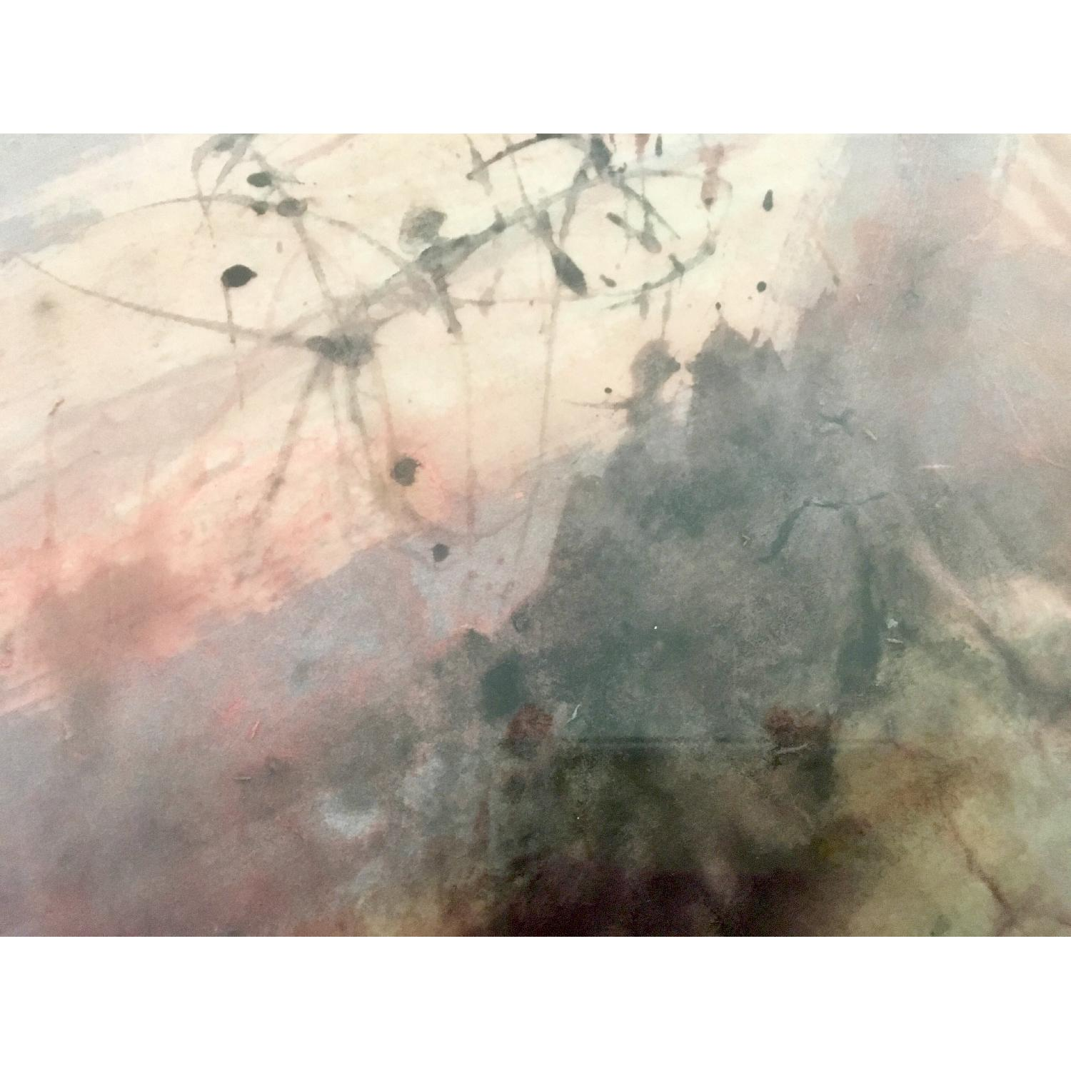 Vintage Abstract Painting 77 - image-1
