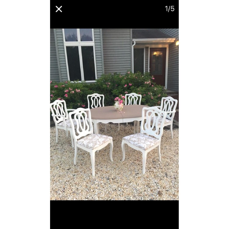 Vintage 7 Piece Dining Room Set - image-2
