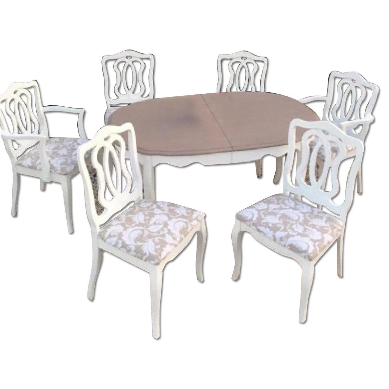 Vintage 7 Piece Dining Room Set - image-0