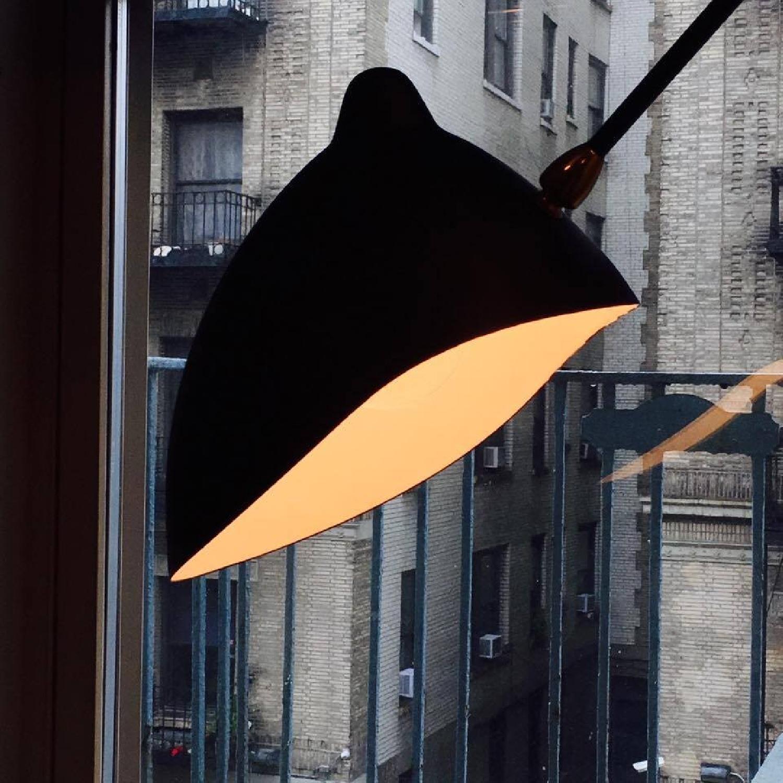 Serge Mouille Style MFL- 3 Three Arm Mantis Floor Lamp - image-4