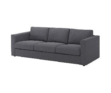Ikea Vimle Medium Gray Sofa