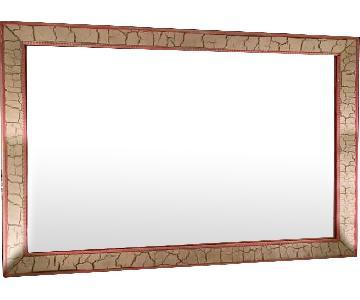 Vintage Custom Illuminated Mirror