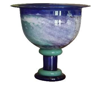 Kosta Boda Footed Vase