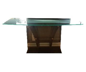 Huffman Koos Glass Buffet/Console