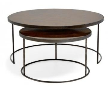 ABC Carpet and Home Bronze Reflect Nesting Tables