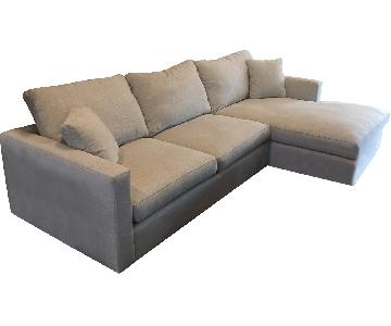 Lillian August 2-Piece Sectional Sofa w/ Chaise