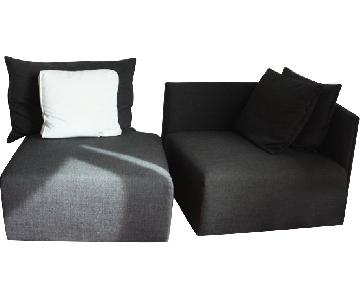 ABC Carpet and Home 2-Piece Sectional Sofa