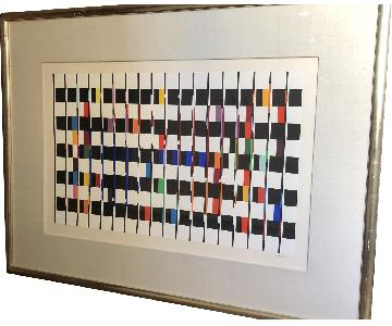 Agam Signed & Numbered Serigraph