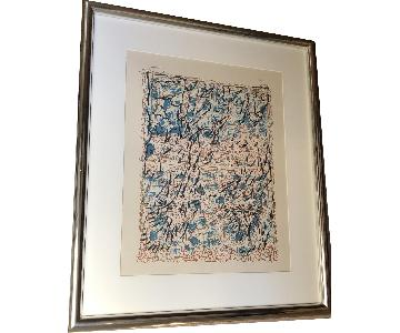 Jean-Paul Riopelle Signed & Numbered Lithograph
