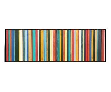 Scrap Wood Designs Multicolor Modern Wooden Art
