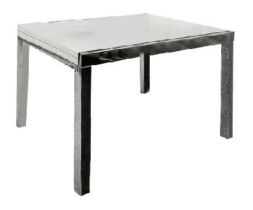 Idealsedia Extendable Glass Dining Table