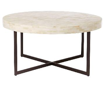 West Elm Bone Coffee Table