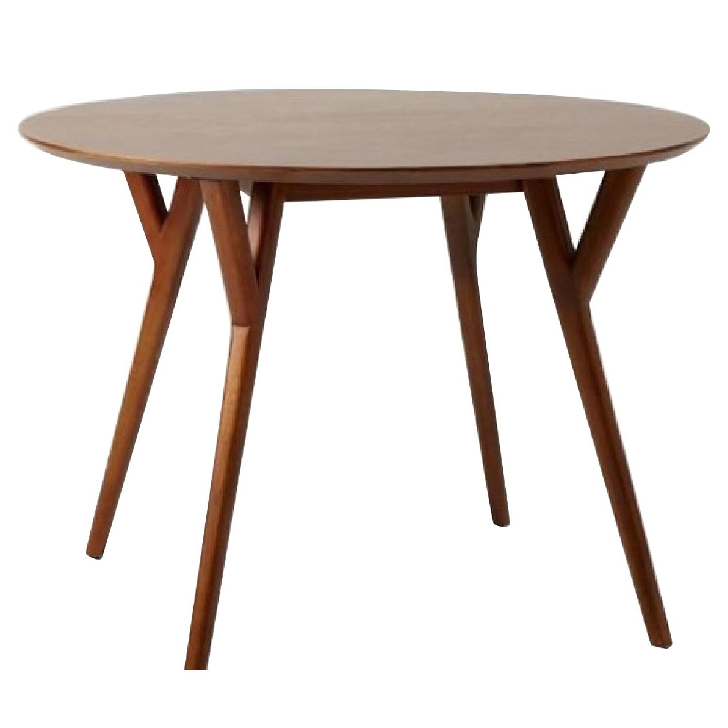 West Elm Parker Mid Century Round Dining Table