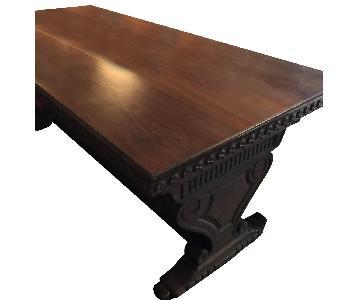 Walnut Dining Table/Desk