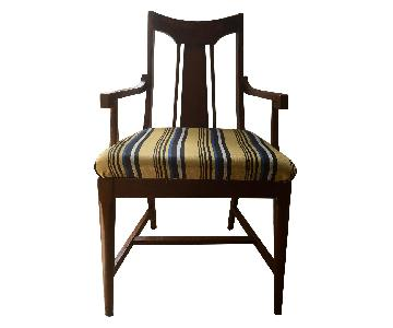 Antique Regency Mahogany Accent Chair
