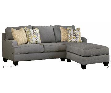 Raymour & Flanigan Montague 2-Piece Sectional Sofa