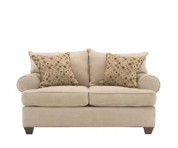 Raymour & Flanigan Vegas Loveseat + Matching Armchair