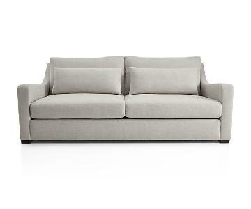 Crate & Barrel Verano Linen Sofa